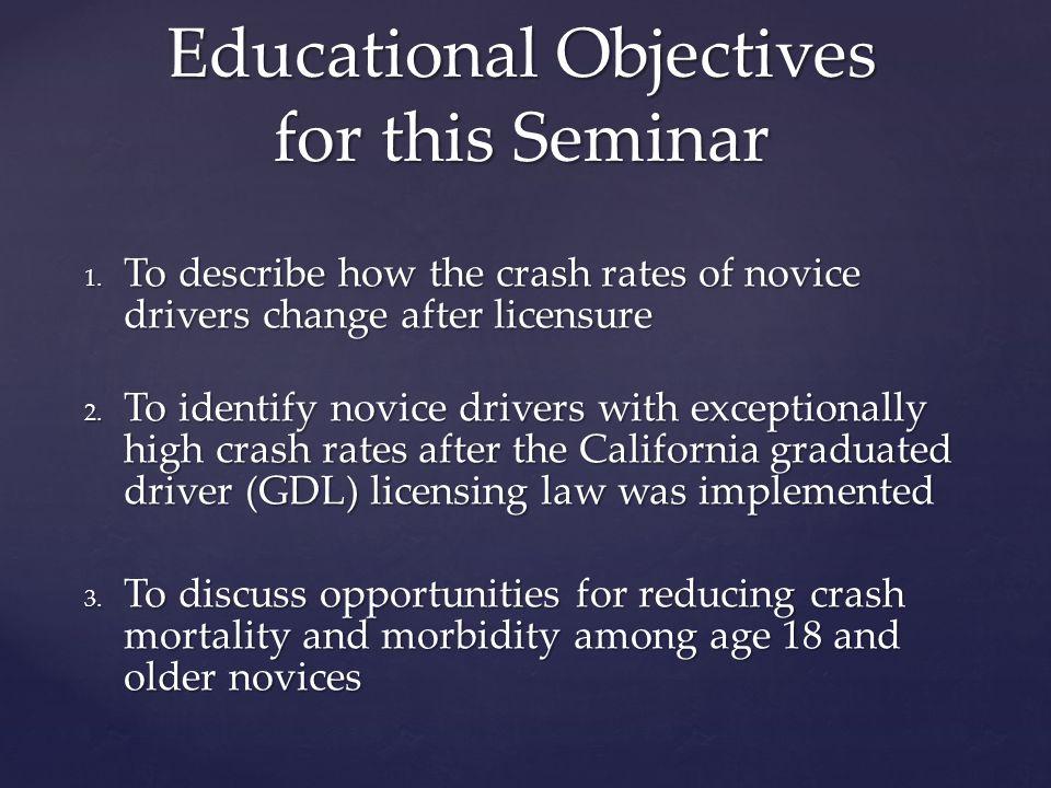 CDC, WISQARS, 2014 Motor Vehicle Crashes Why should I care.