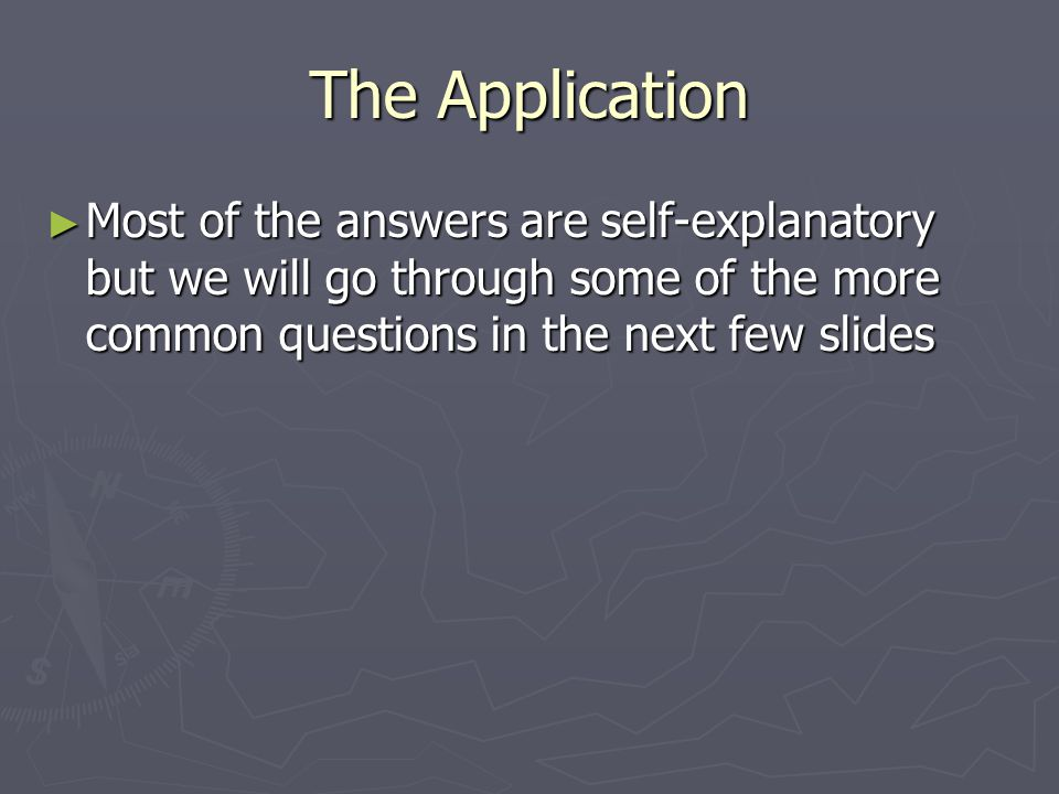 Question #2 ► Application Category