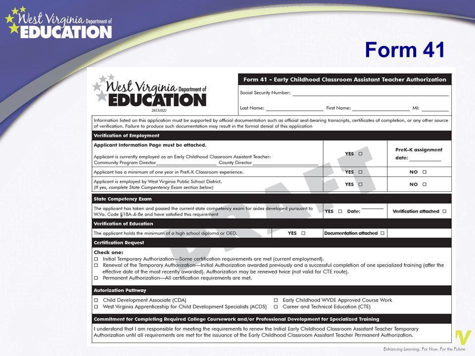 Form 41