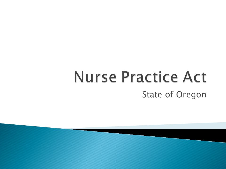  Specifics on standards related to the licensed nurse's responsibilities:  For client advocacy  For the environment of care  For ethics, including professional accountability and competence  Toward nursing technology  To assign and supervise care  To accept and implement orders for client care and tx.