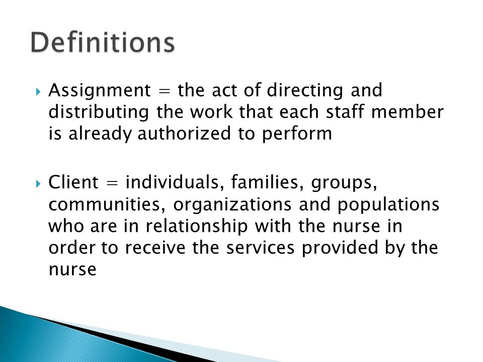  (2) Standards r/t the LPN's responsibility for nursing practice implementation: ◦ Under the clinical direction of the RN or other licensed provider who the authority to make changes in the plan of care, and applying practical nursing knowledge drawn from the biological, psychological, social, sexual, economic, cultural and spiritual aspects of the client's condition or needs, the LPN shall: