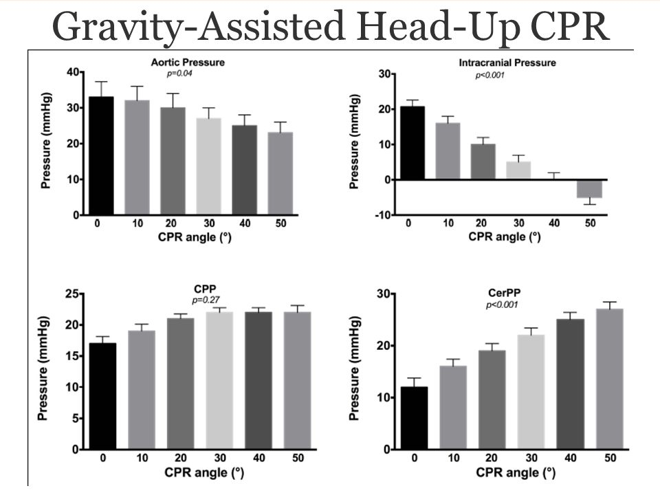Gravity-Assisted Head-Up CPR