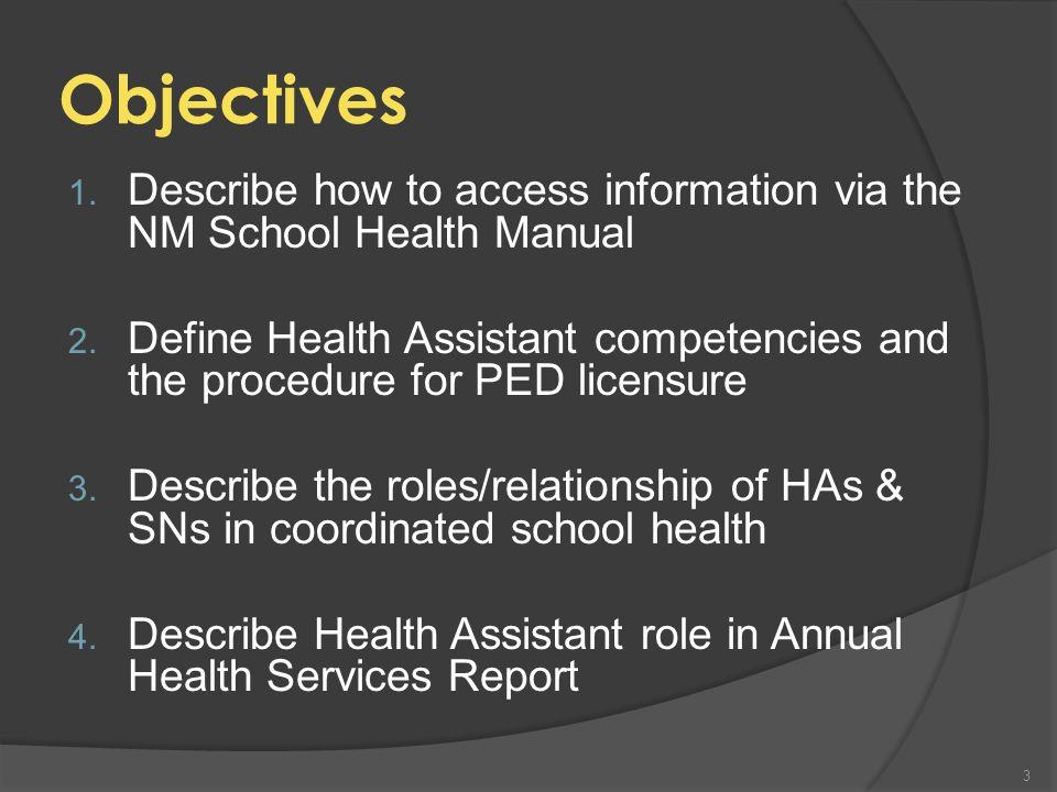 Cindy Greenberg OSAH Clinical Nurse Consultant Cynthia.Greenberg@state.nm.us 505-222-8680 Cynthia Greenberg RN, BSN, MSN, NCSN