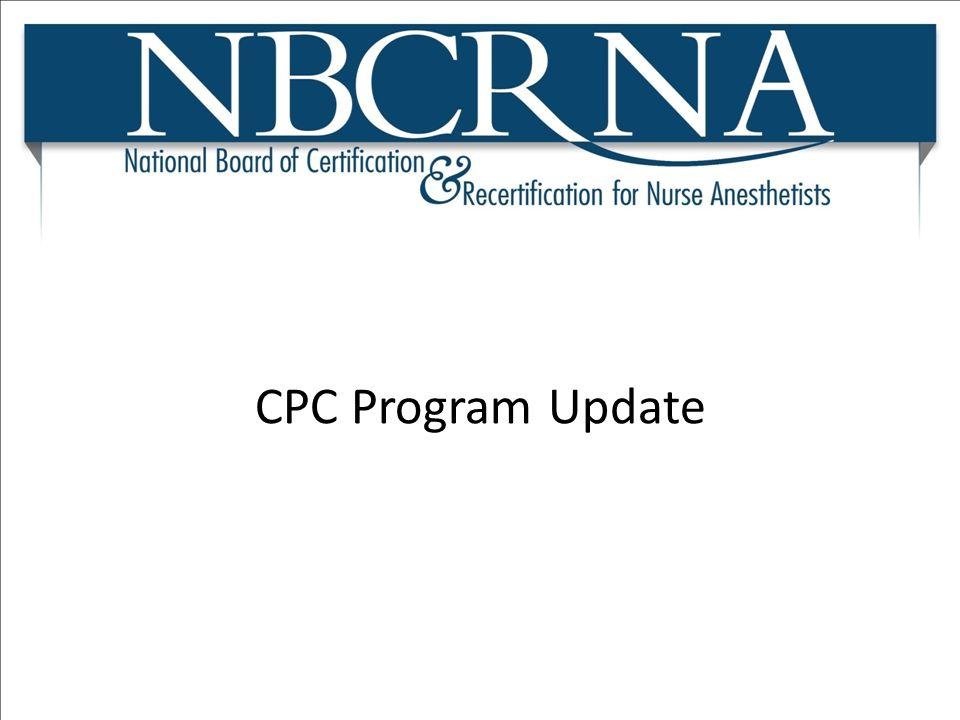 CPC Program Update