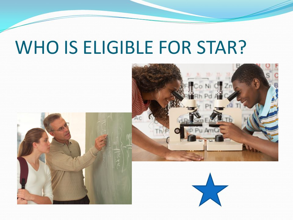  Current UNCW Undergraduate Junior or Senior, Graduate Student or Licensure Only Candidate (apply spring semester before scholarship is awarded) ;  Pursuing a license to teach Math or Science at the Middle School or Secondary level;  Completion of all requirements for entrance into the Watson School of Education;  Passing scores on Praxis I (or equivalent)  On time completion of all required application materials (see STAR website);  No criminal record