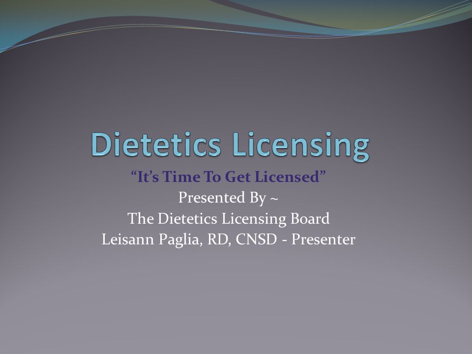 It's Time To Get Licensed Get Started Today.