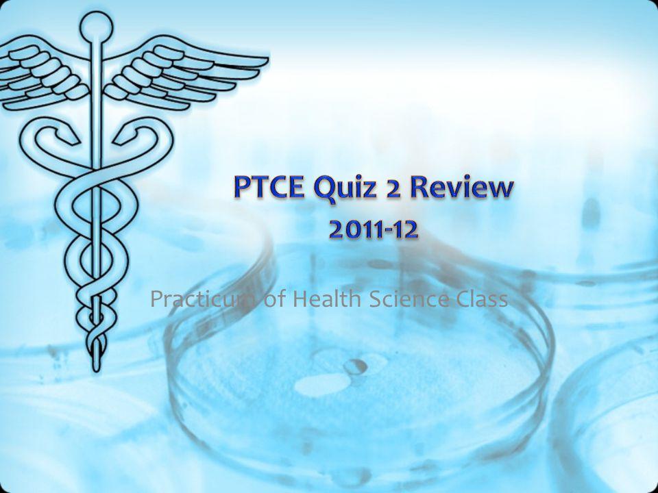 Practicum of Health Science Class