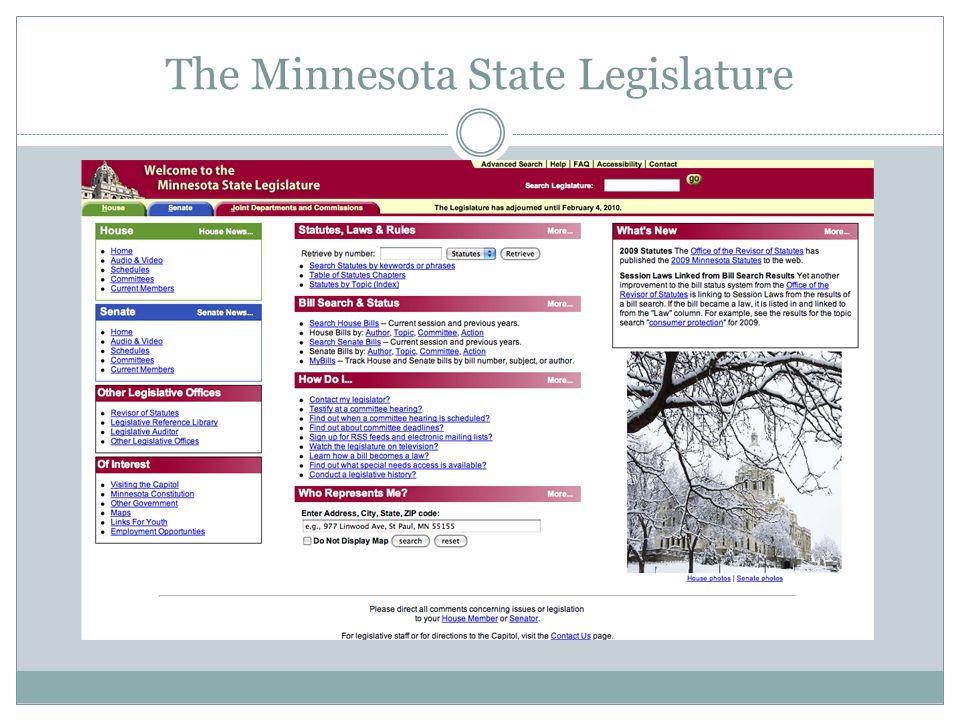 The Minnesota State Legislature