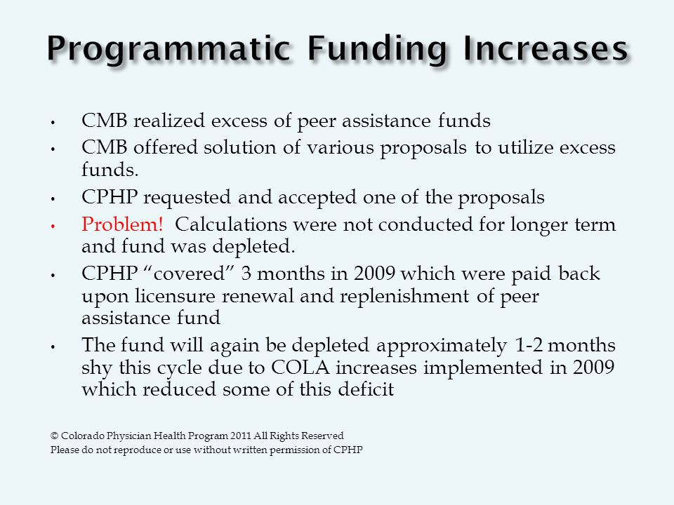 CMB realized excess of peer assistance funds CMB offered solution of various proposals to utilize excess funds.
