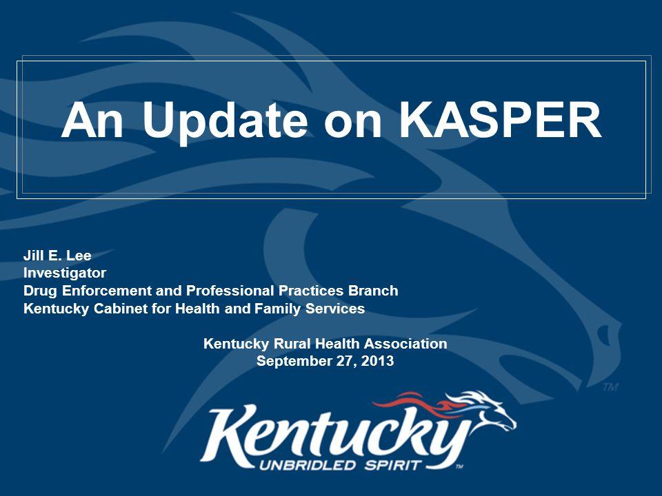 Controlled Substance Prescribing in Kentucky Recent Legislative Changes