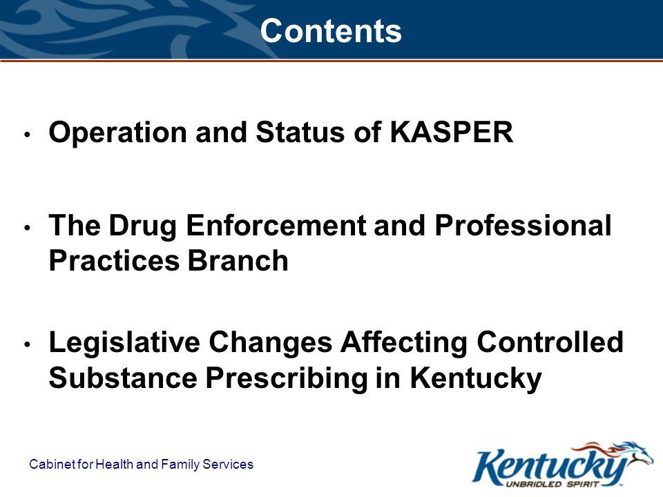 An Update on the KASPER Program