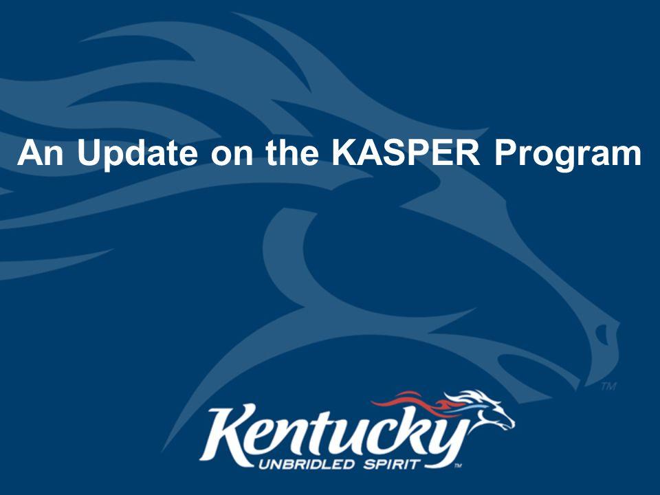 Cabinet for Health and Family Services KASPER KASPER is Kentucky's Prescription Monitoring Program (PMP).