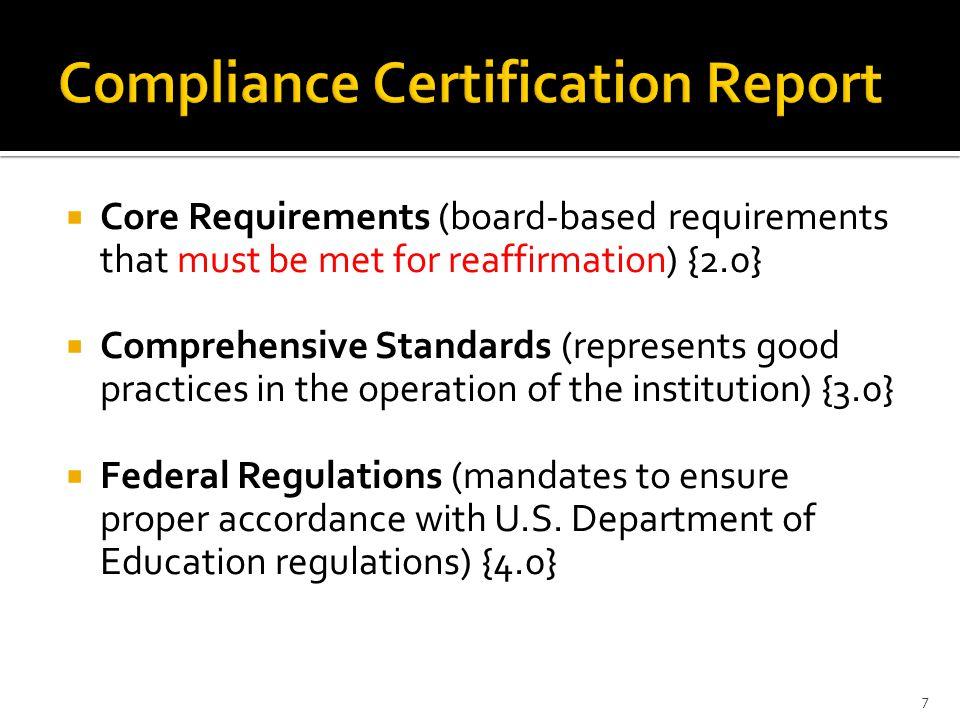 Two-fold:  Focus Report Clarification  QEP 6