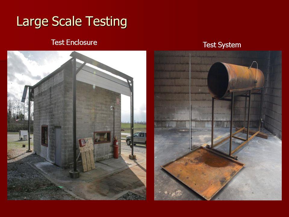 Large Scale Testing Test Enclosure Test System