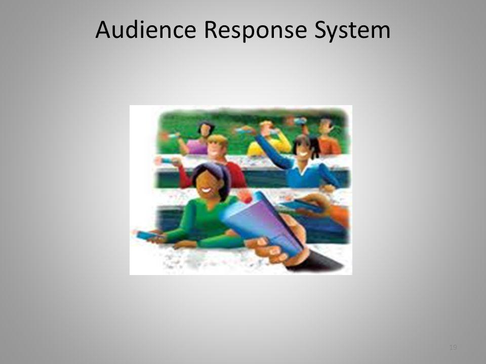 Audience Response System 19