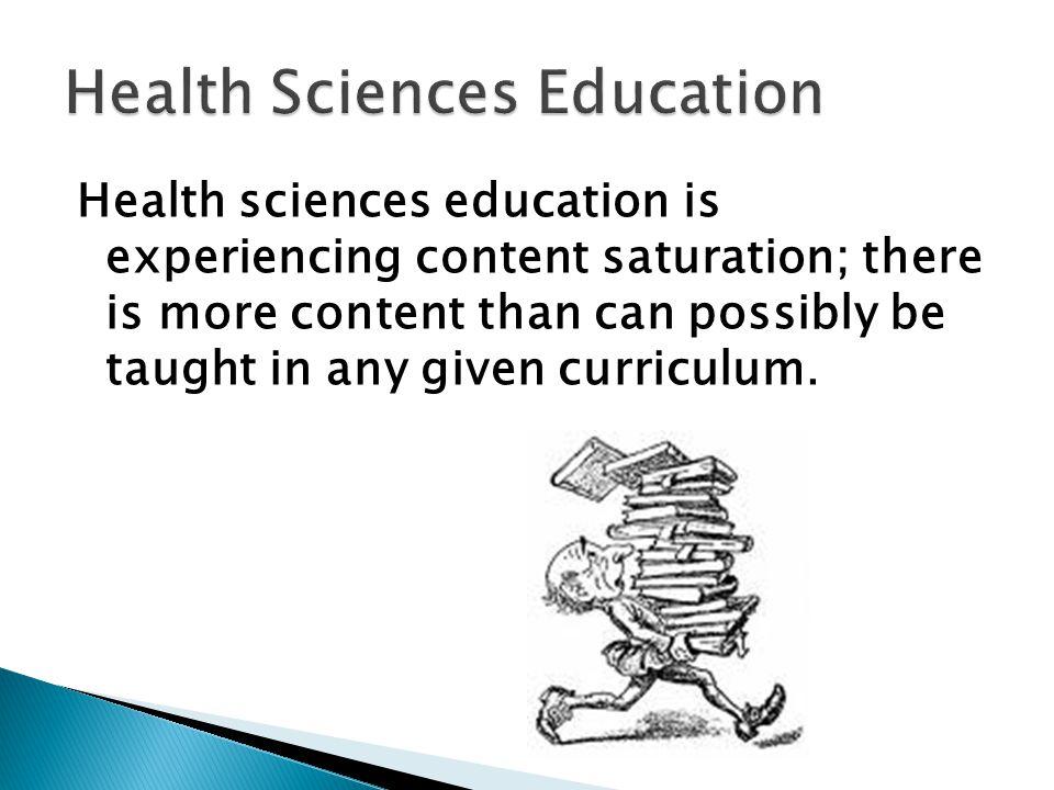 Curriculum Obesity Content Saturation Content Overload Additive Curriculum