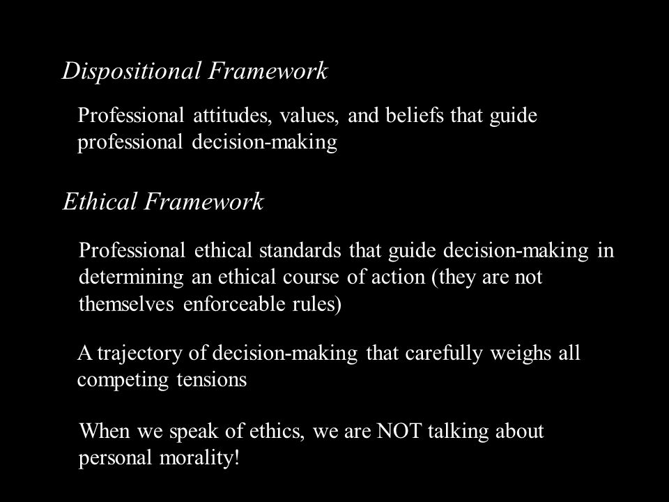 When seeking guidance on ethical decision-making, teachers often rely upon opinions that lead to situational, subjective, arbitrary, and inconsistent resolutions.
