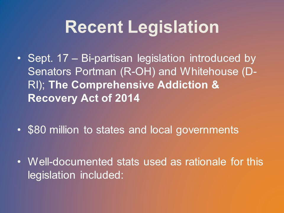 Recent Legislation Sept.
