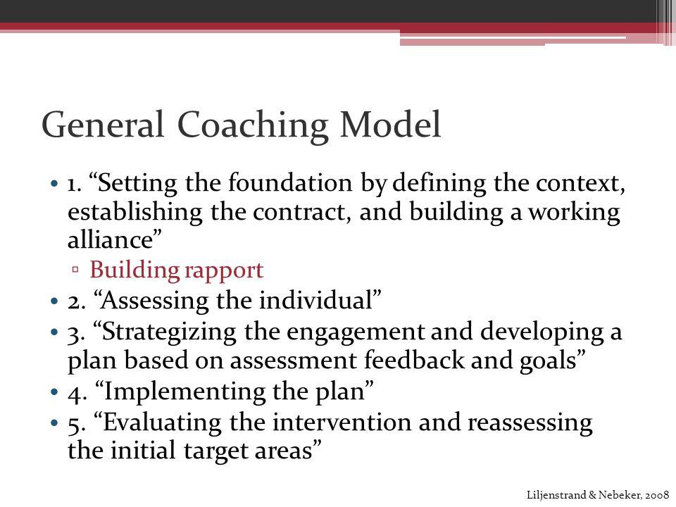 General Coaching Model 1.