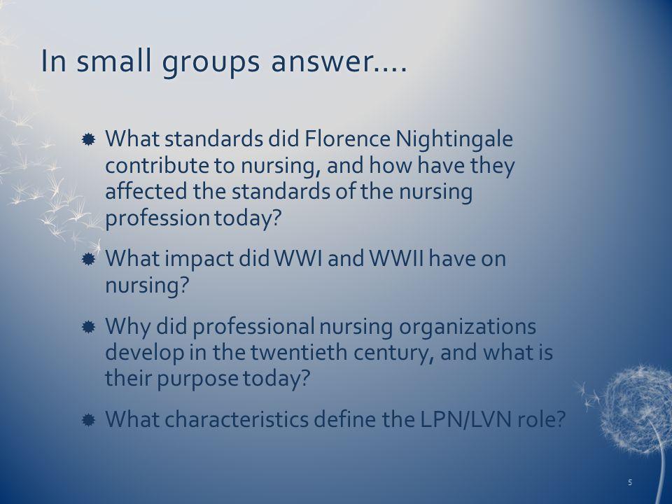 In small groups answer….In small groups answer….