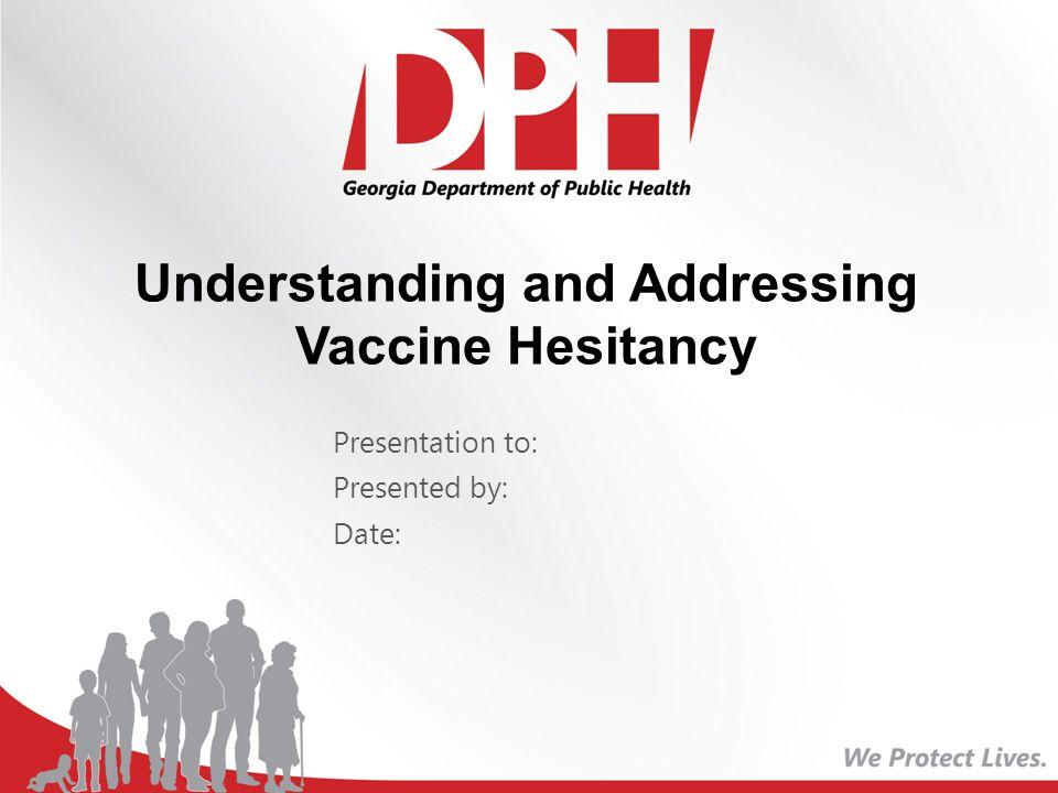 Georgia Immunization Study (2010-2011) Reasons for Incomplete Immunizations by 24 months