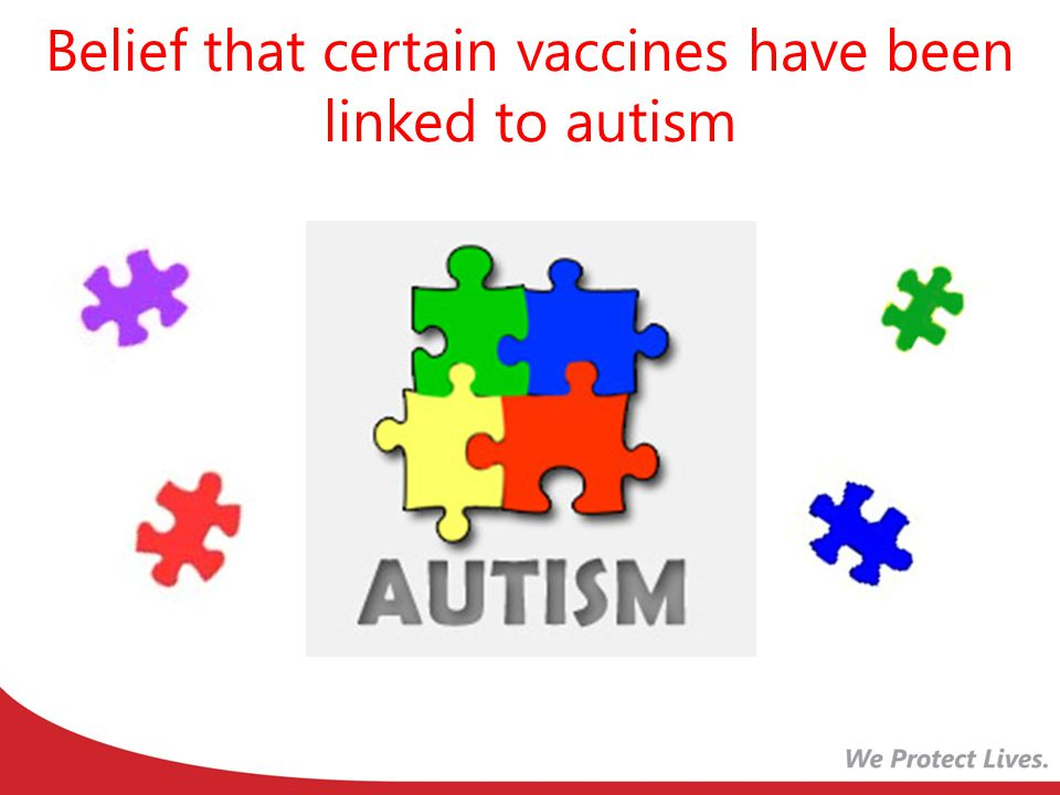 Belief that certain vaccines have been linked to autism