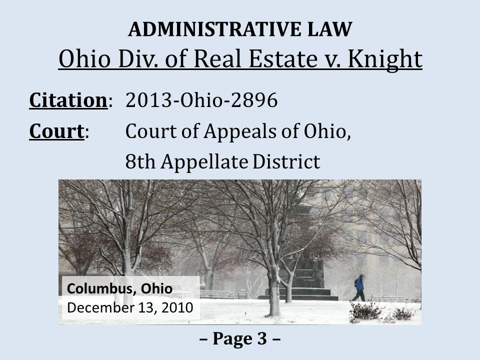 LICENSING Izzi v.State Real Estate Comm'n – Page 38 – Fall 2006 Oct.