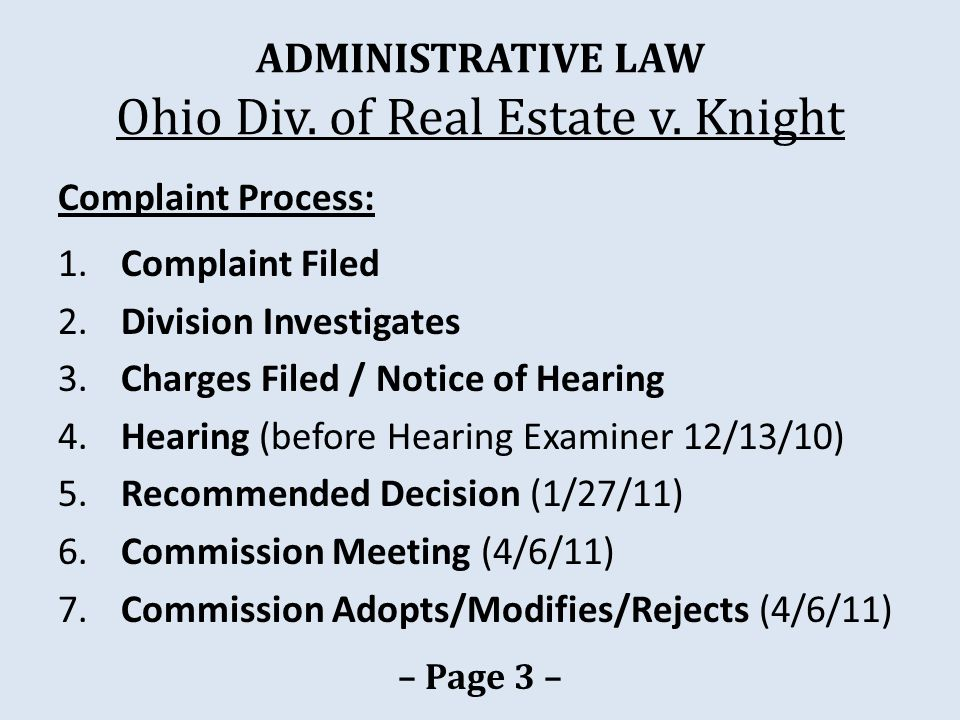 LICENSING Izzi v.State Real Estate Comm'n Only an adjudication is reviewable.