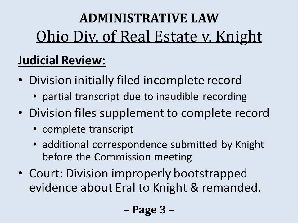 PUBLIC RECORDS Prudential Locations v.