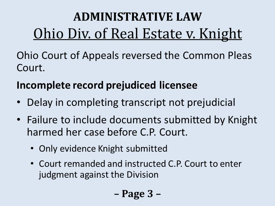 HEARINGS Pagel v.Iowa Real Estate Comm'n Pagel removed personal property.