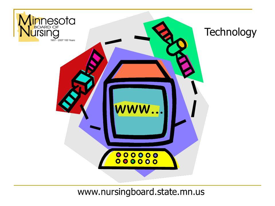 www.nursingboard.state.mn.us Technology