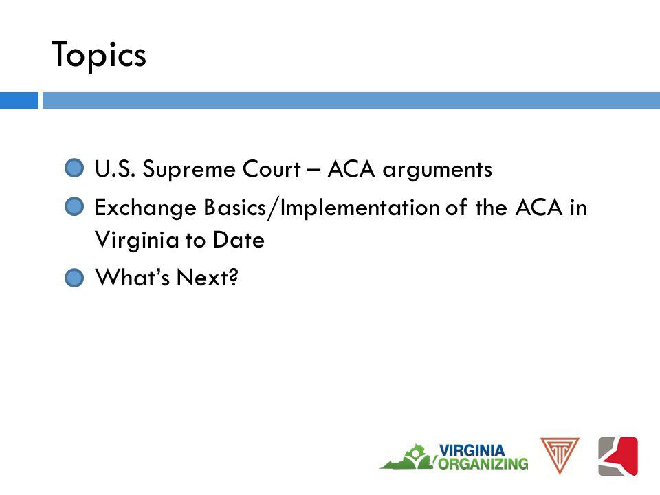 Topics U.S.