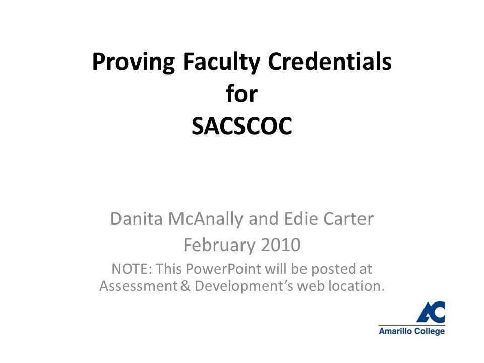 OVERVIEW 1.Who are the SACSCOC reviewers. 2. What do they expect.