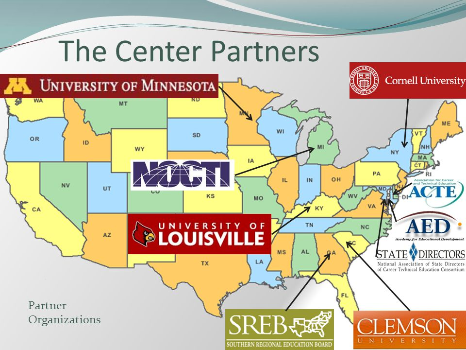 The Center Partners Partner Organizations