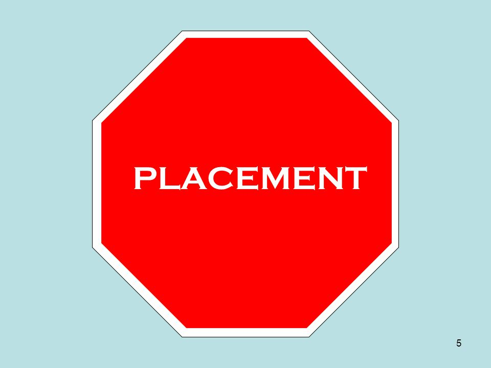 PLACEMENT 5