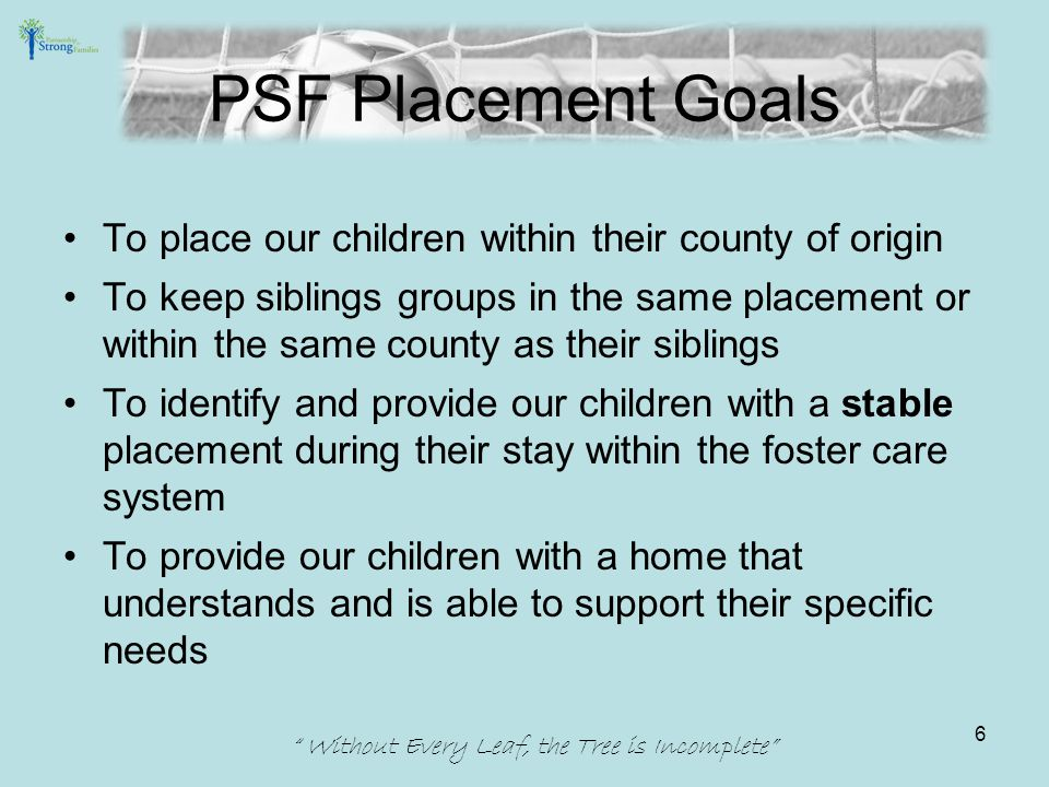 Communication Foster Parent Email List –Recruitment and Retention sends various emails out announcing free activities, training opportunities and community resources available to parents.