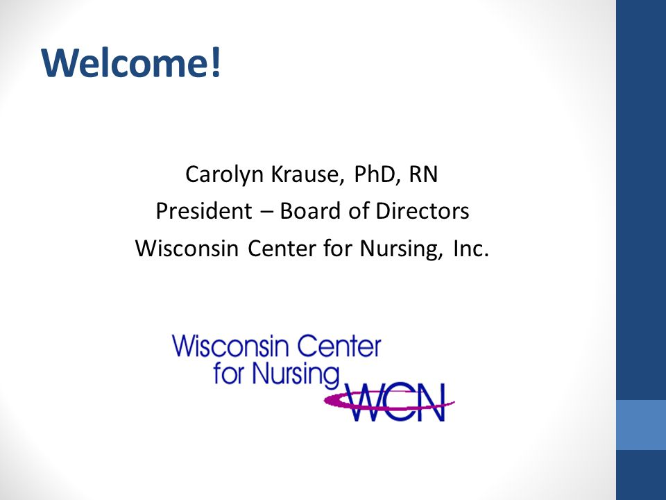 Results: Wisconsin IOM Progress Hospitals Clinics Nursing Education Other All Is your organization taking action to: n=51n=43n=27n=121 Remove scope-of- practice barriers.