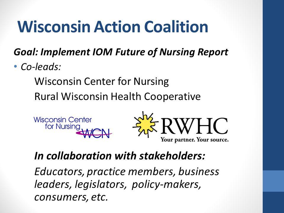 National Level Leadership Robert Wood Johnson Foundation® State Implementation Program Grants (SIP) Center to Champion Nursing in America AARP www.campaignfornursing.org