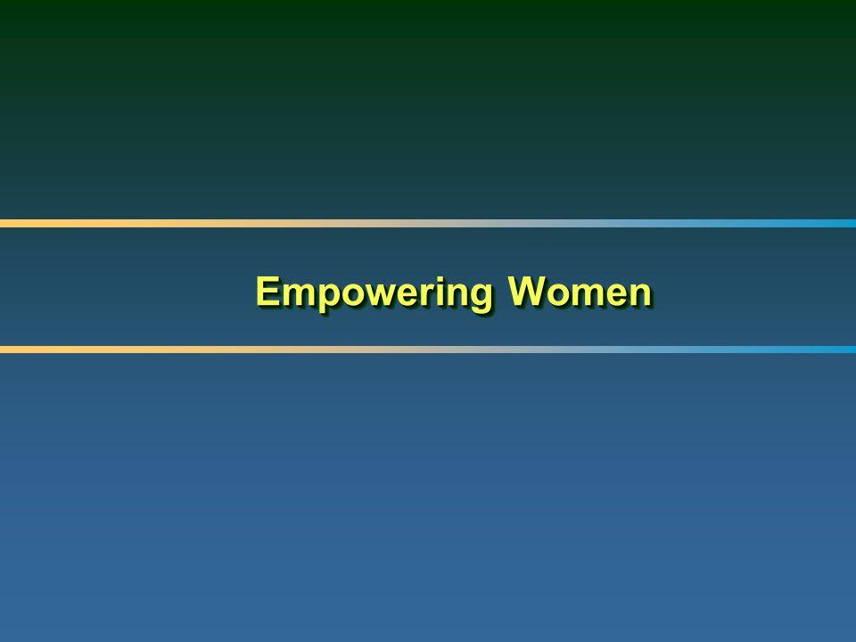 Empowering Women Empowering Women