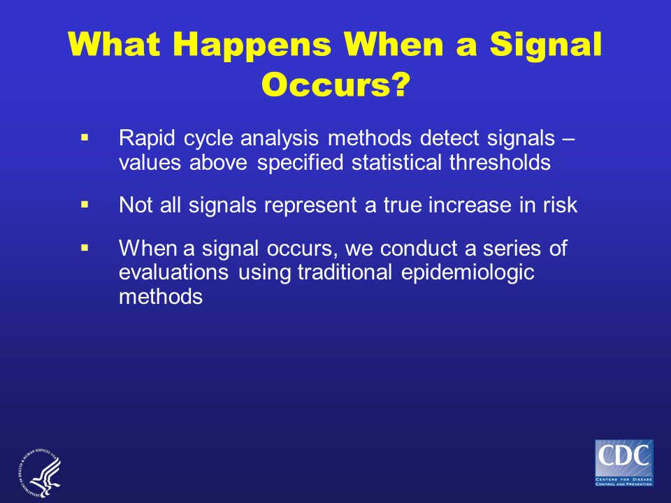 What Happens When a Signal Occurs.
