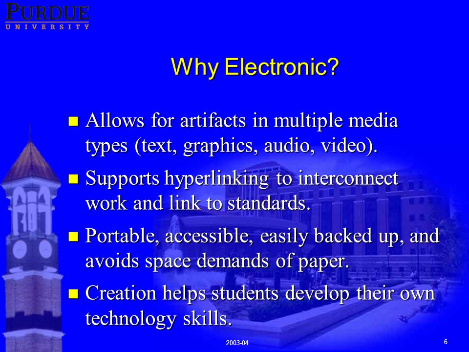 2003-04 6 Why Electronic.