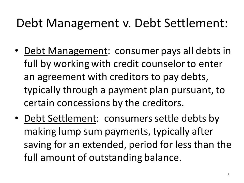 8 Debt Management v.