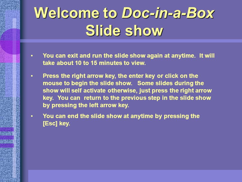 Doc-in-a-Box Physician Recruiting Software Version 8.X Don't let the easy ones fall through the cracks.
