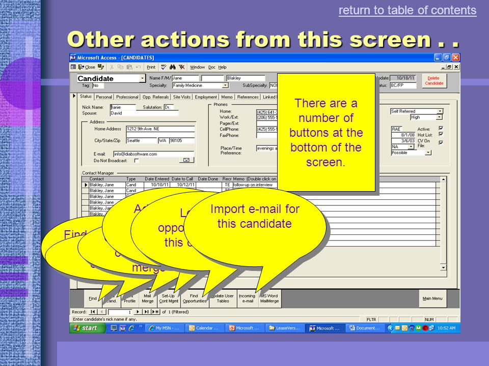 This page tracks e-mail messages sent using Microsoft Outlook return to table of contents Track e-mail messages...