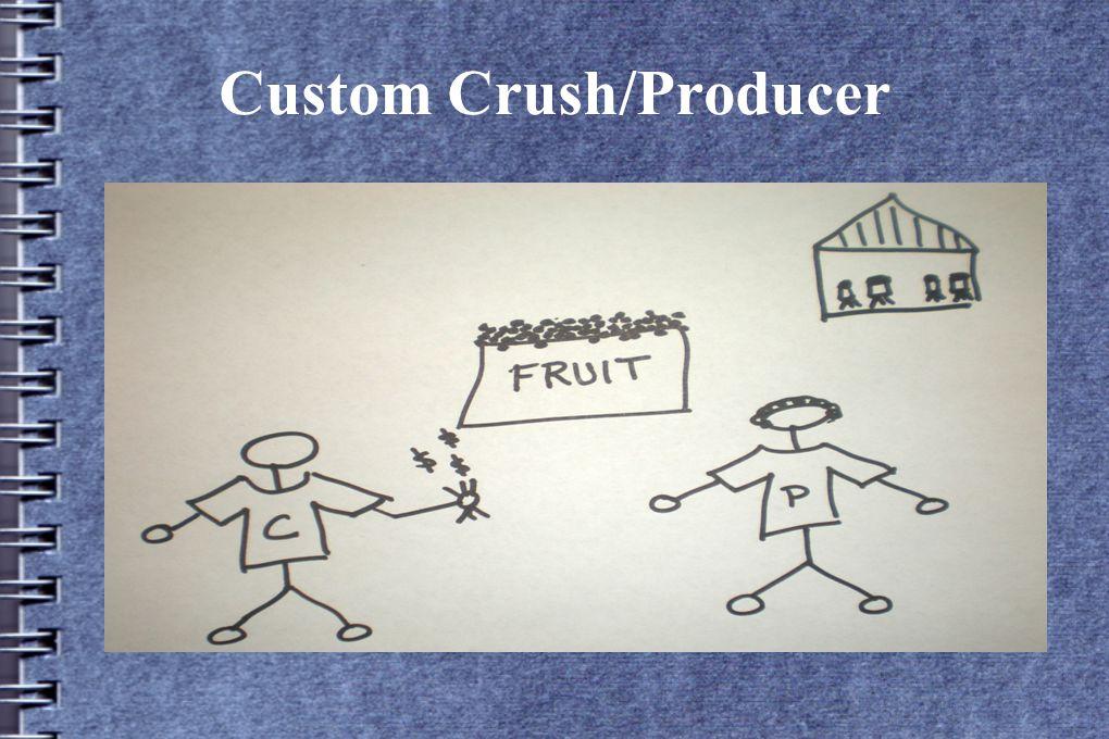Custom Crush/Producer