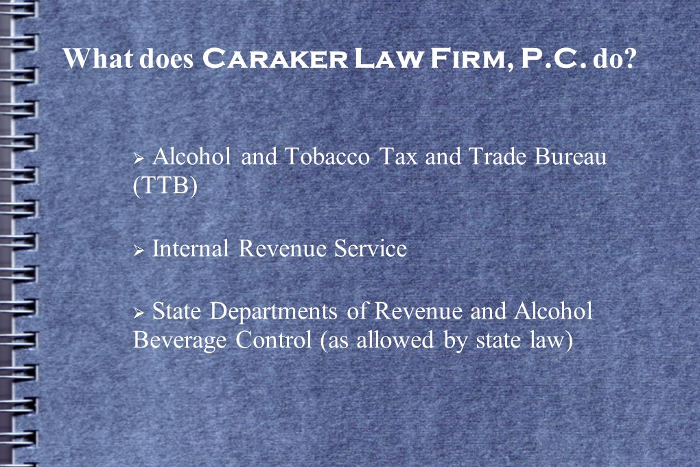 What does Caraker Law Firm, P.C. do.
