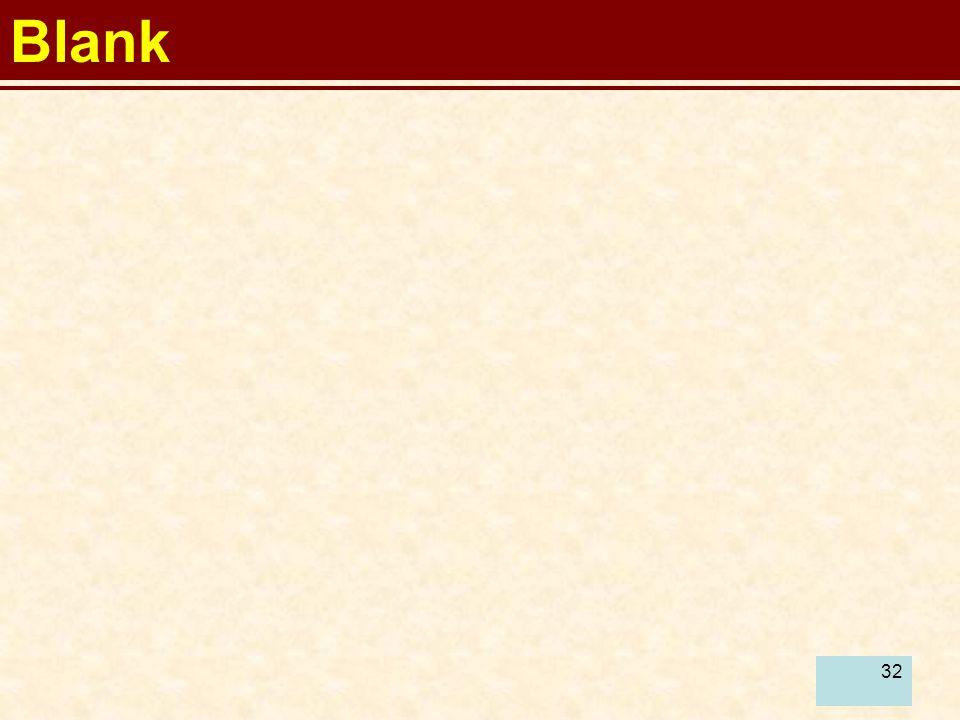 32 Blank