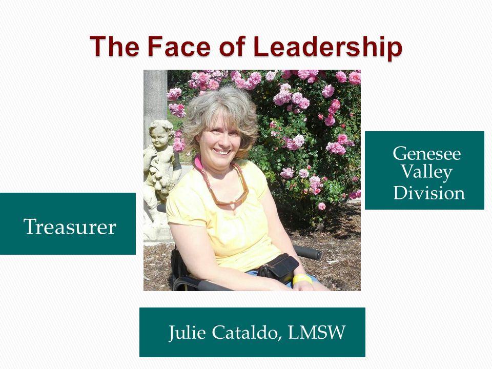 Julie Cataldo, LMSW Genesee Valley Division Treasurer