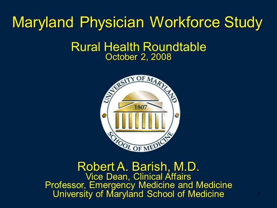 1 October 2, 2008 Rural Health Roundtable October 2, 2008 Robert A.