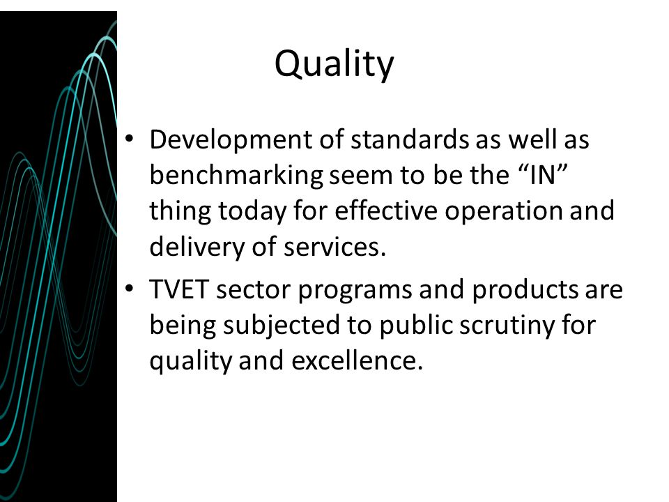The strength of ISO 9000 Quality Management System (QMS) is its universality.